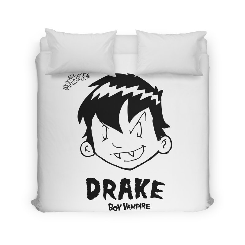Drake - Boy Vampire  Home Duvet by The Polygoons' Shop