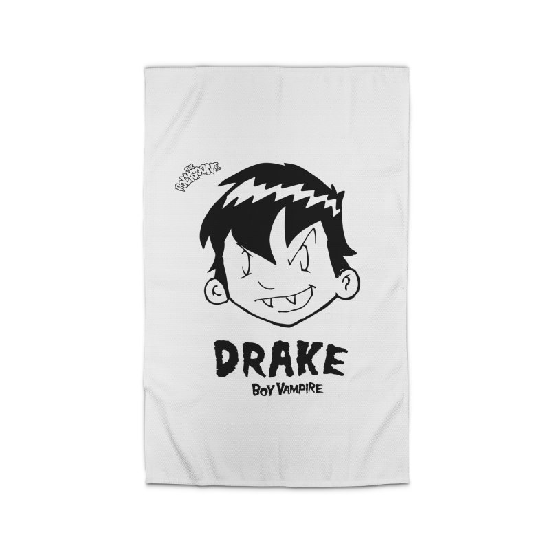 Drake - Boy Vampire  Home Rug by The Polygoons' Shop