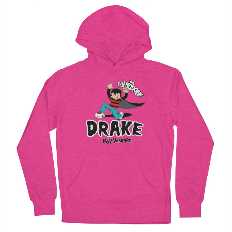 Drake Creepin' Men's French Terry Pullover Hoody by The Polygoons' Shop