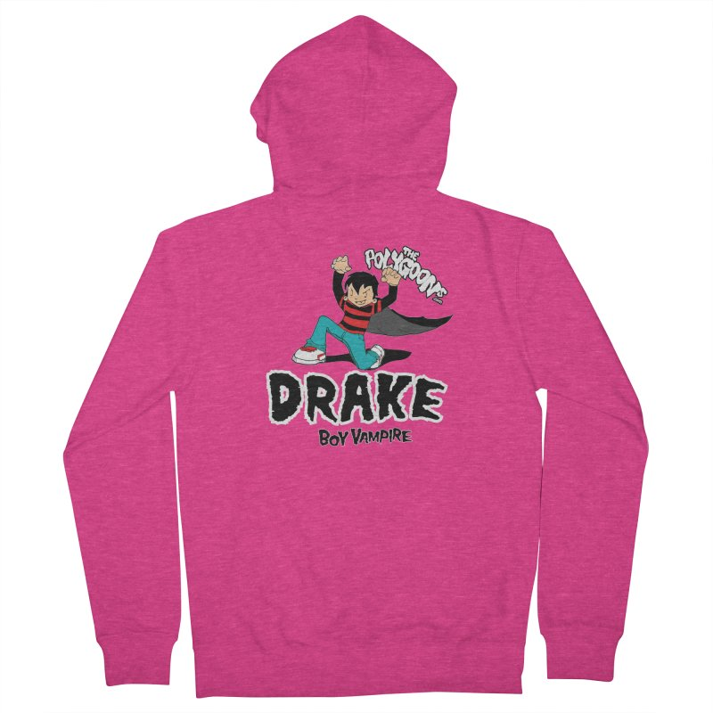 Drake Creepin' Women's French Terry Zip-Up Hoody by The Polygoons' Shop
