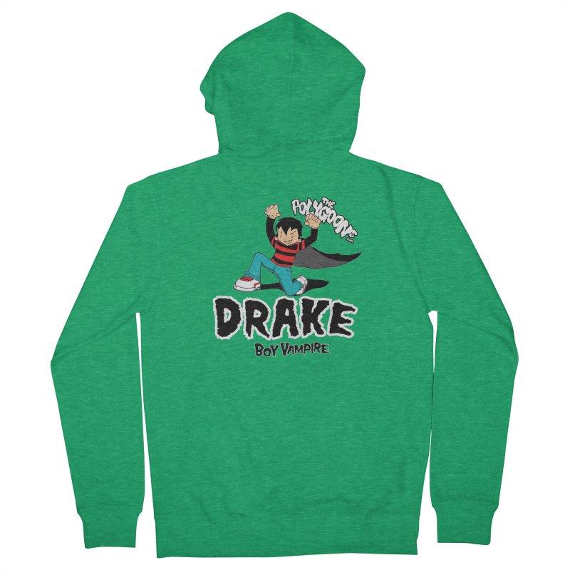 Drake Creepin' Men's Zip-Up Hoody by The Polygoons' Shop