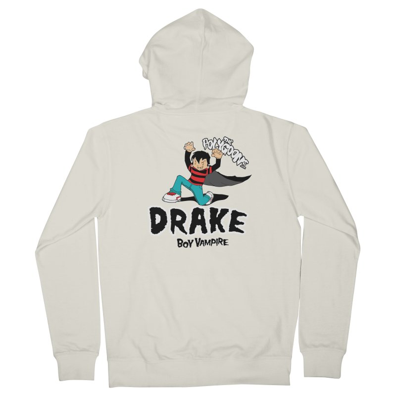 Drake Creepin' Men's French Terry Zip-Up Hoody by The Polygoons' Shop