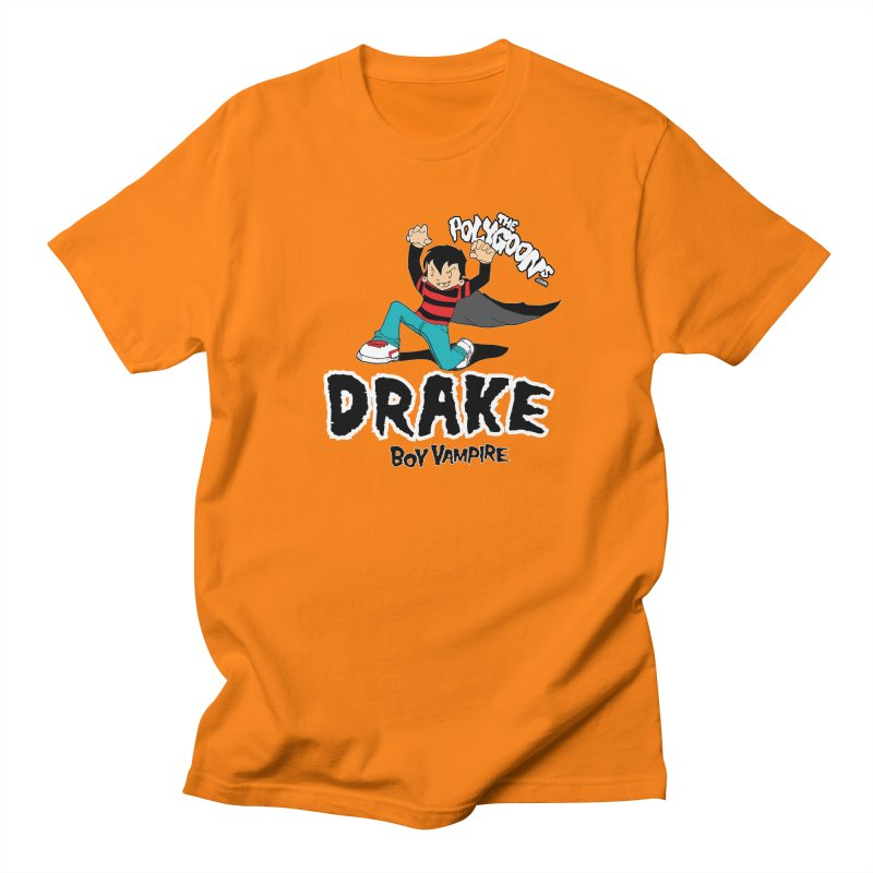 Drake Creepin' in Women's Unisex T-Shirt Orange by The Polygoons' Shop
