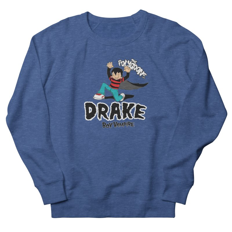 Drake Creepin' Women's French Terry Sweatshirt by The Polygoons' Shop