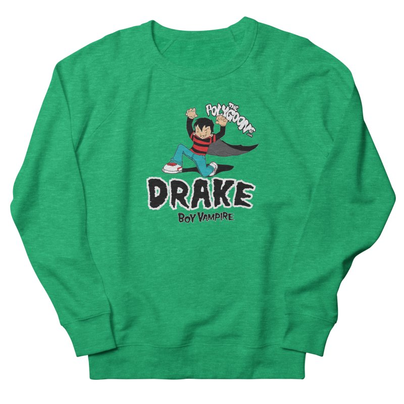 Drake Creepin' Men's French Terry Sweatshirt by The Polygoons' Shop