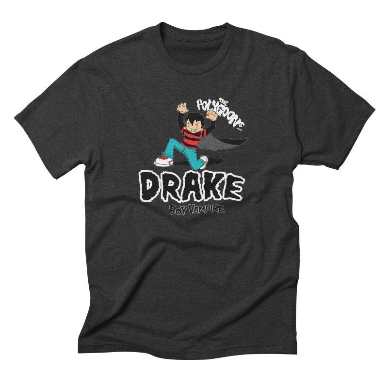 Drake Creepin' Men's Triblend T-Shirt by The Polygoons' Shop