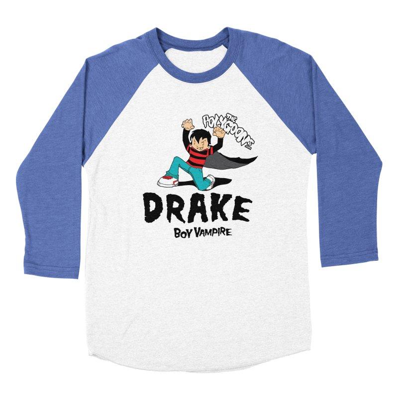 Drake Creepin' Men's Baseball Triblend Longsleeve T-Shirt by The Polygoons' Shop