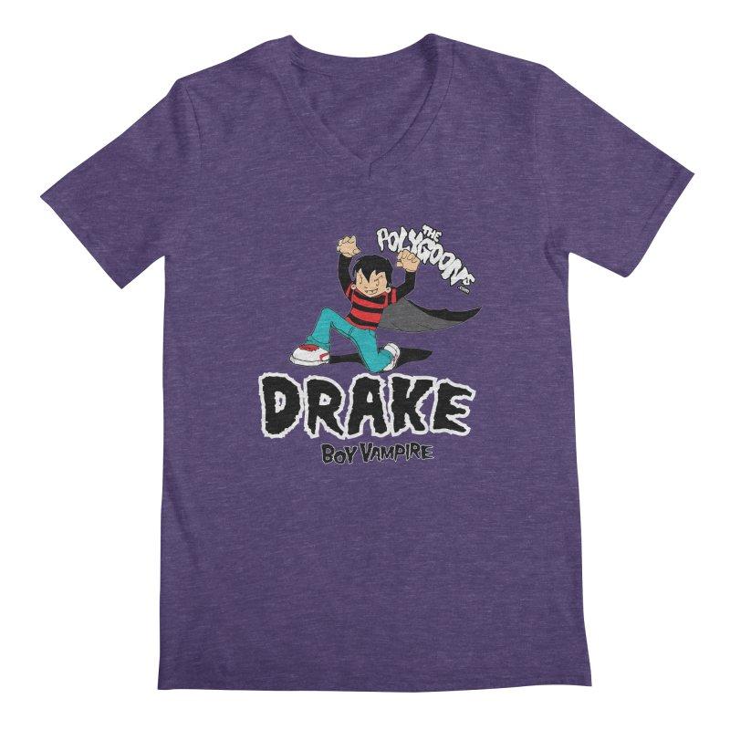 Drake Creepin' Men's Regular V-Neck by The Polygoons' Shop