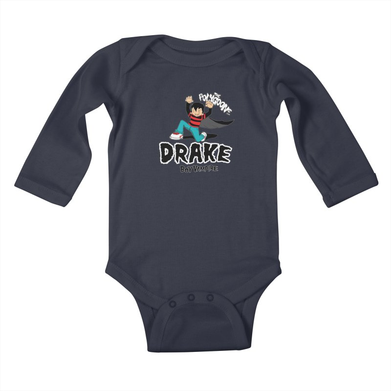 Drake Creepin' Kids Baby Longsleeve Bodysuit by The Polygoons' Shop