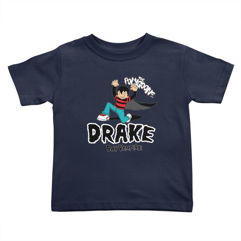 Drake Creepin' Kids Toddler T-Shirt by The Polygoons' Shop
