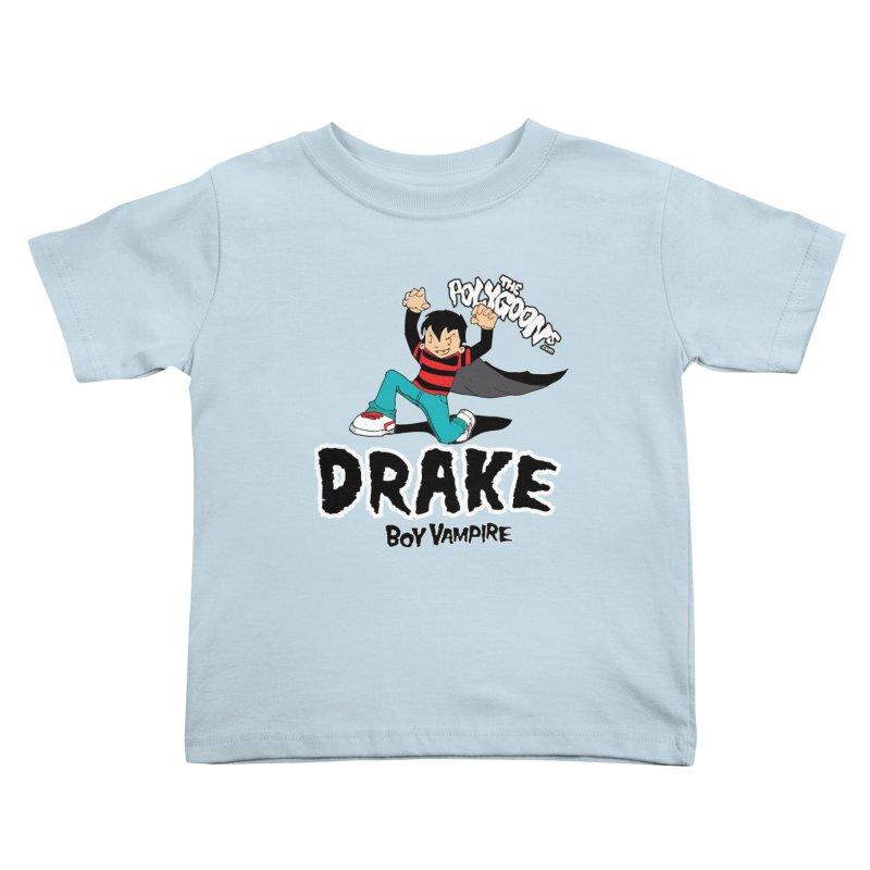 Drake Creepin' Kids Toddler T-Shirt by The Polygoons' Shop