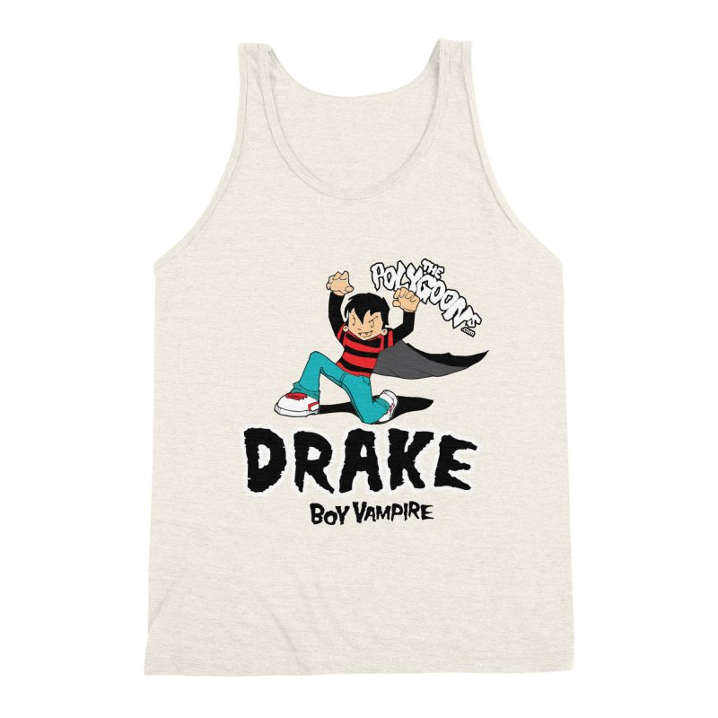 Drake Creepin' Men's Triblend Tank by The Polygoons' Shop