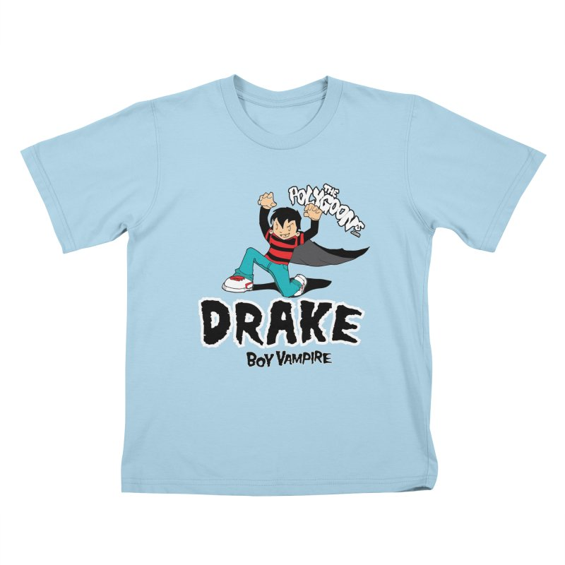 Drake Creepin' Kids T-Shirt by The Polygoons' Shop