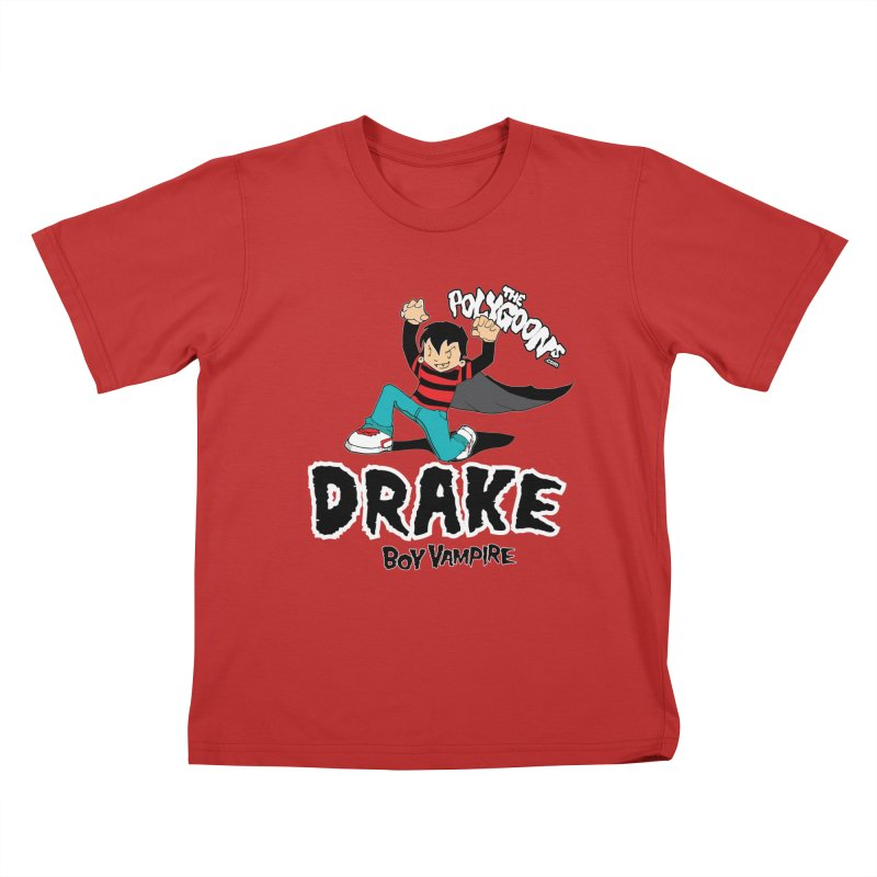 Drake Creepin' Kids T-Shirt by The Polygoons' Shop