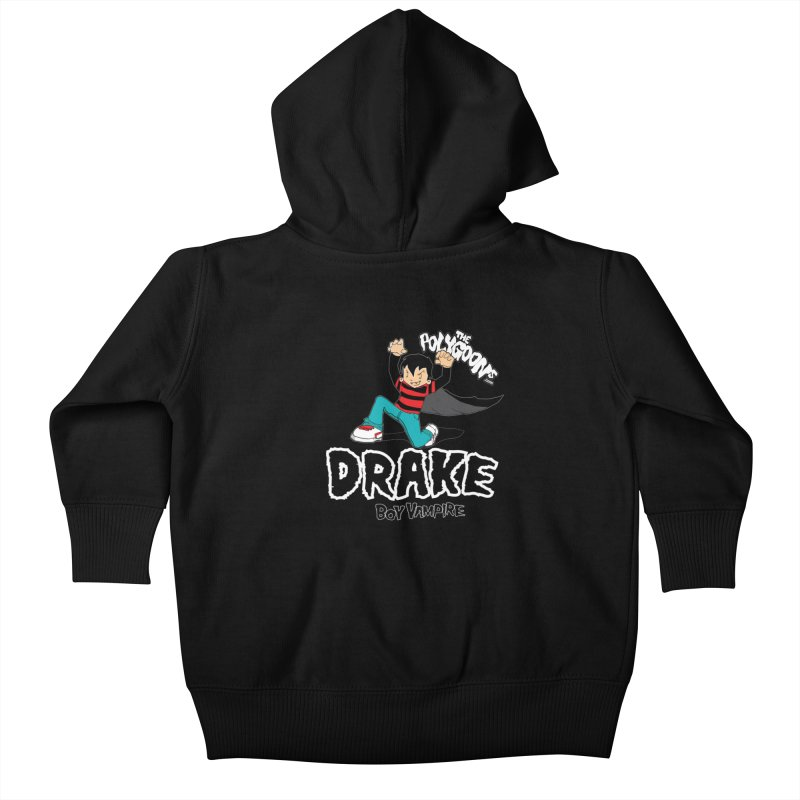 Drake Creepin' Kids Baby Zip-Up Hoody by The Polygoons' Shop