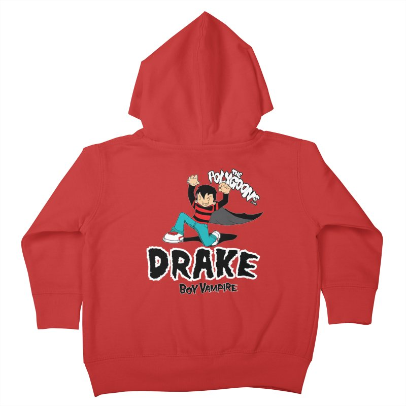 Drake Creepin' Kids Toddler Zip-Up Hoody by The Polygoons' Shop