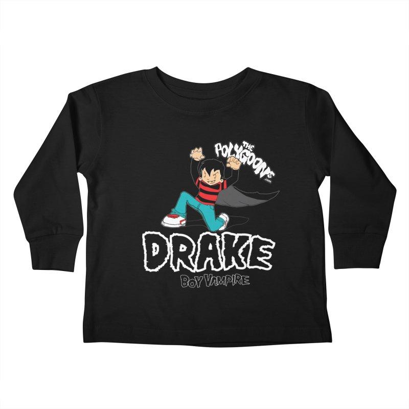 Drake Creepin' Kids Toddler Longsleeve T-Shirt by The Polygoons' Shop