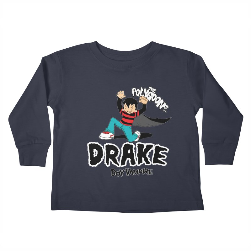 Drake Creepin' Kids Toddler Longsleeve T-Shirt by The Polygoons' Shop