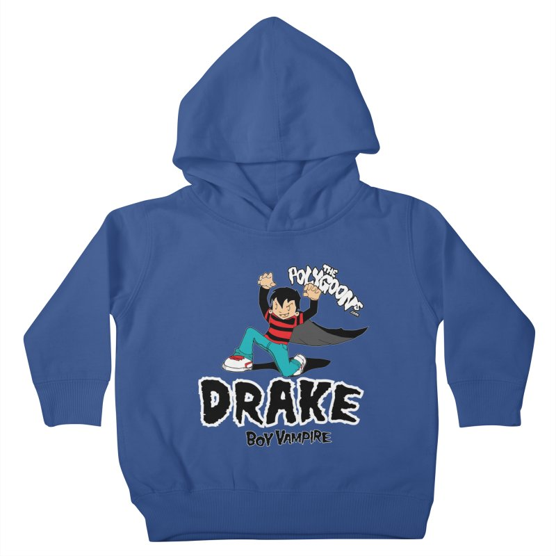 Drake Creepin' Kids Toddler Pullover Hoody by The Polygoons' Shop