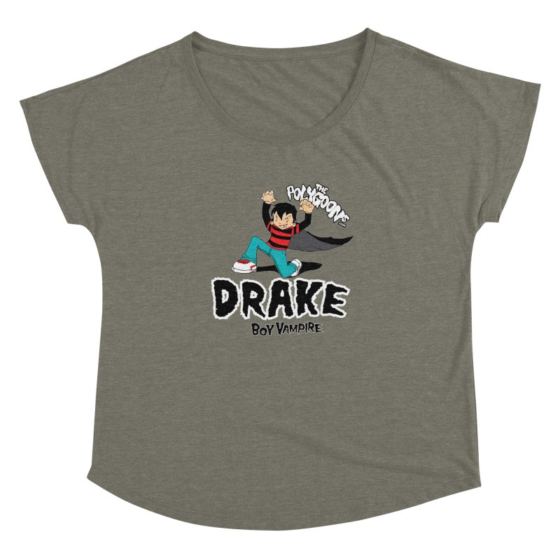 Drake Creepin' Women's Dolman Scoop Neck by The Polygoons' Shop