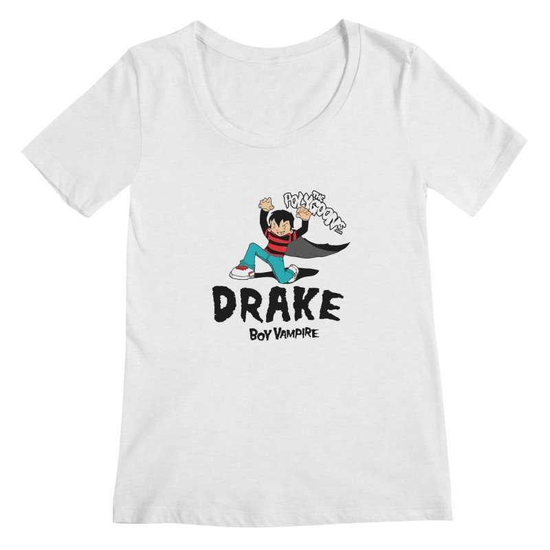 Drake Creepin' Women's Regular Scoop Neck by The Polygoons' Shop
