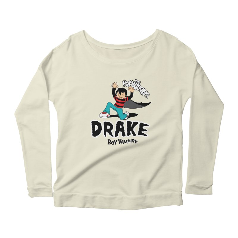 Drake Creepin' Women's Scoop Neck Longsleeve T-Shirt by The Polygoons' Shop