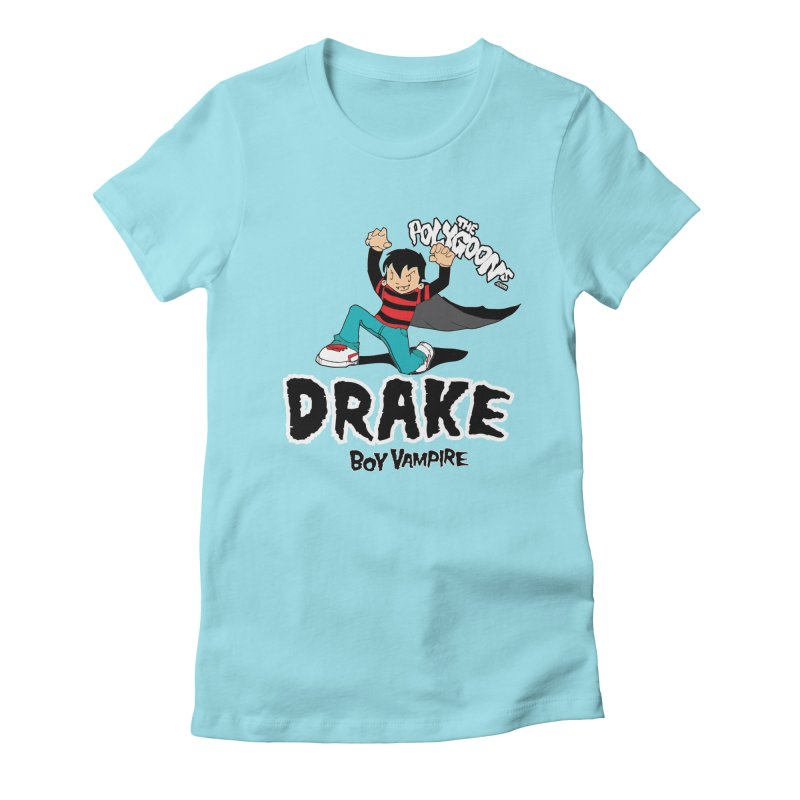 Drake Creepin' Women's Fitted T-Shirt by The Polygoons' Shop