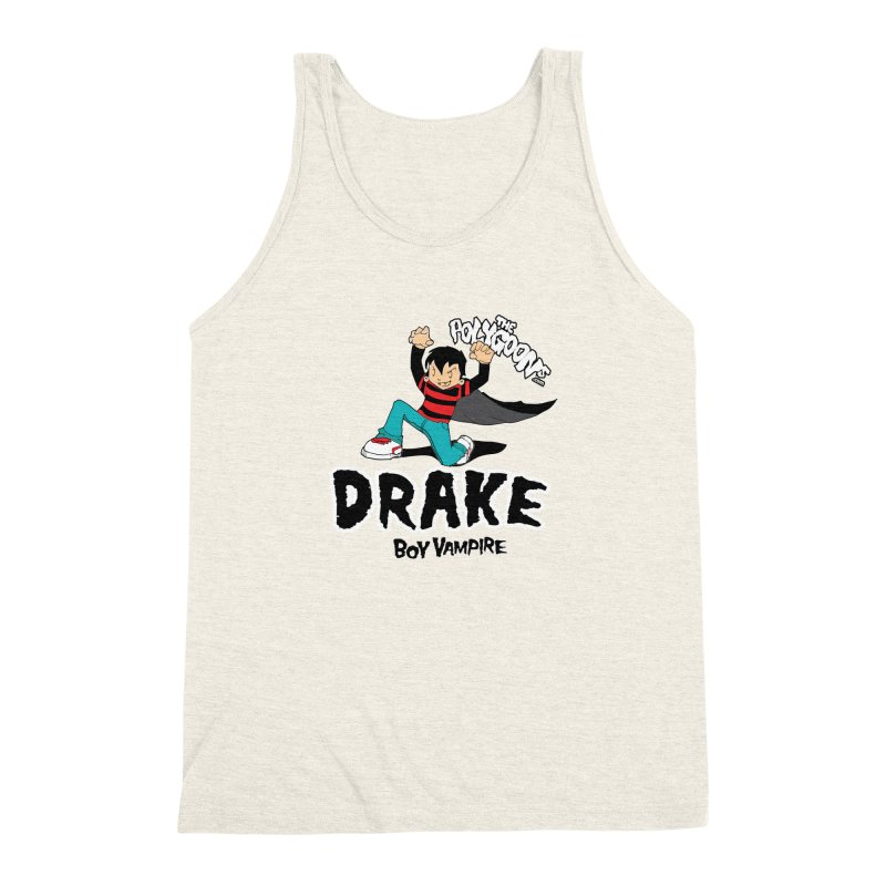 Drake Creepin' Men's Triblend Tank by The Polygoons' Shop
