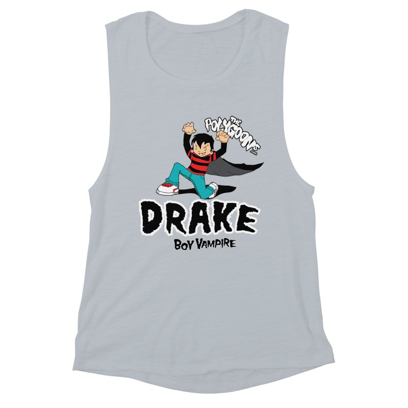Drake Creepin' Women's Muscle Tank by The Polygoons' Shop