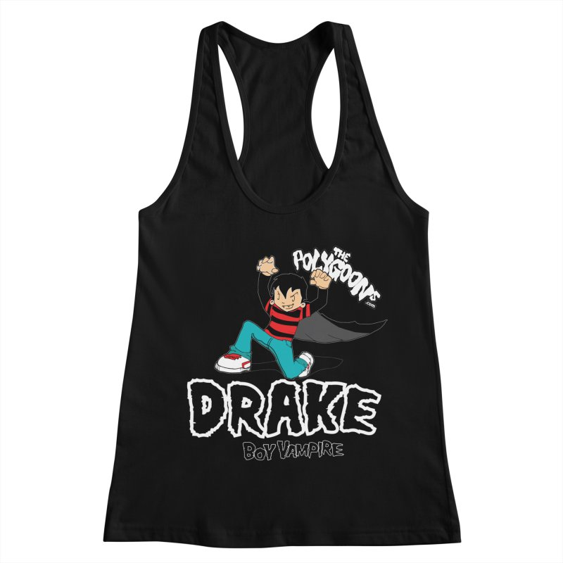 Drake Creepin' Women's Racerback Tank by The Polygoons' Shop