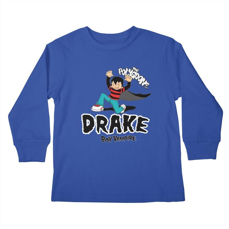 Drake Creepin' Kids Longsleeve T-Shirt by The Polygoons' Shop