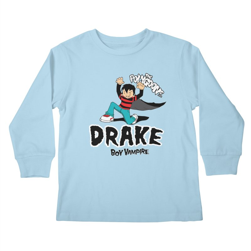 Drake Creepin' Kids Longsleeve T-Shirt by The Polygoons' Shop
