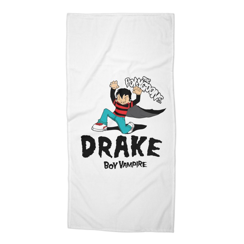Drake Creepin' Accessories Beach Towel by The Polygoons' Shop