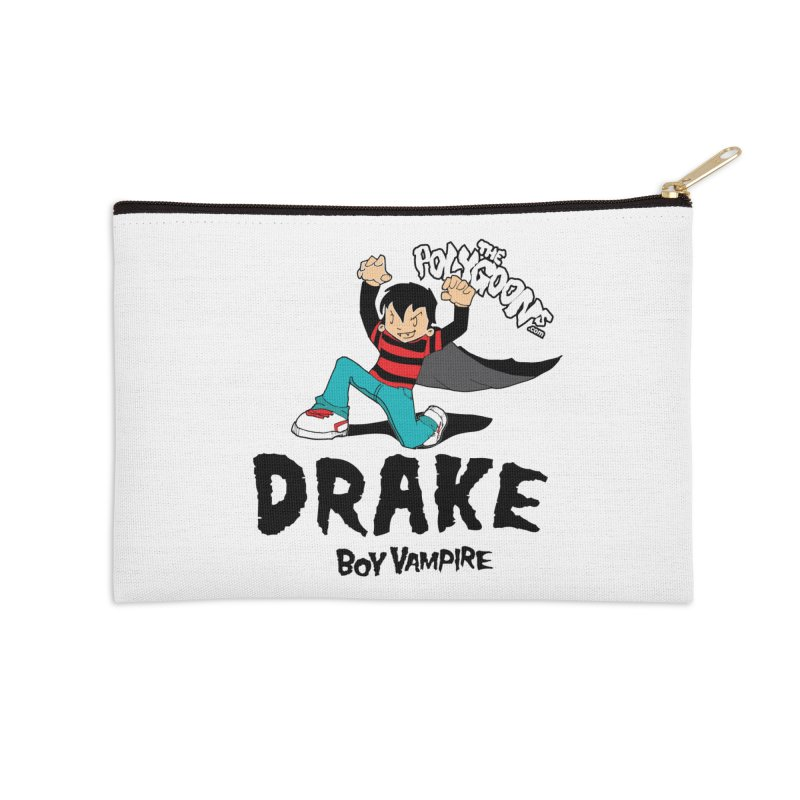 Drake Creepin' Accessories Zip Pouch by The Polygoons' Shop