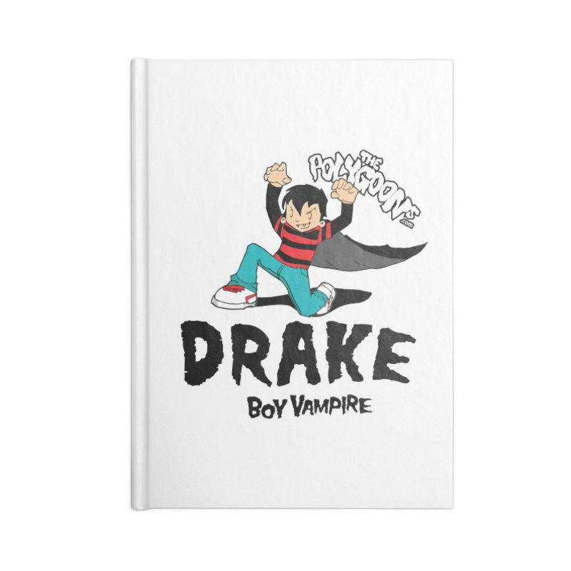 Drake Creepin' Accessories Blank Journal Notebook by The Polygoons' Shop