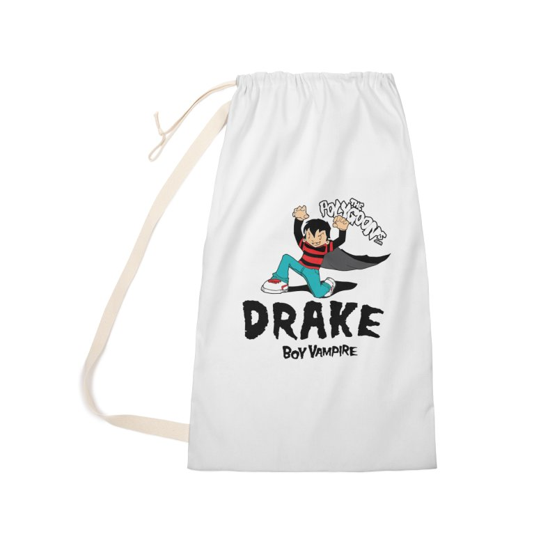 Drake Creepin' Accessories Laundry Bag Bag by The Polygoons' Shop