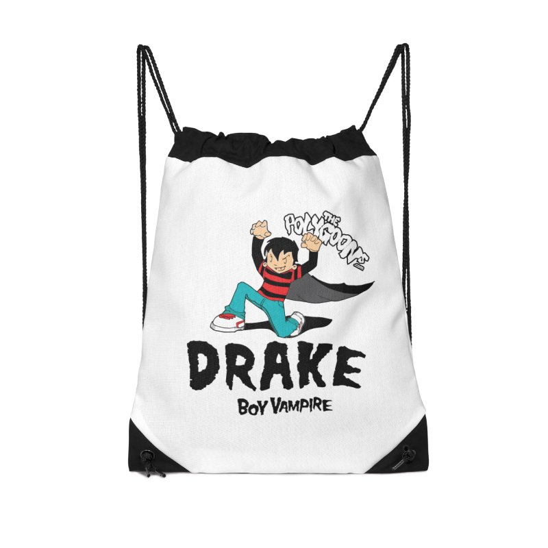Drake Creepin' Accessories Drawstring Bag Bag by The Polygoons' Shop
