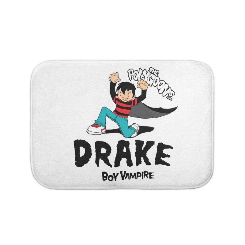 Drake Creepin' Home Bath Mat by The Polygoons' Shop