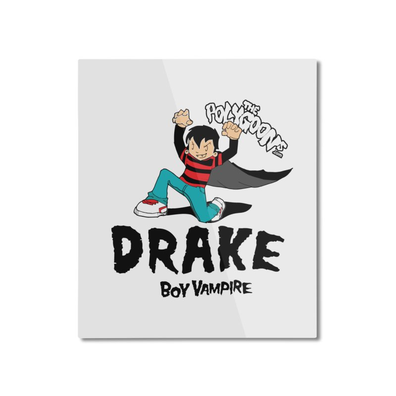 Drake Creepin' Home Mounted Aluminum Print by The Polygoons' Shop
