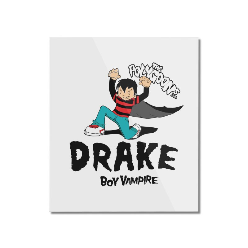 Drake Creepin' Home Mounted Acrylic Print by The Polygoons' Shop