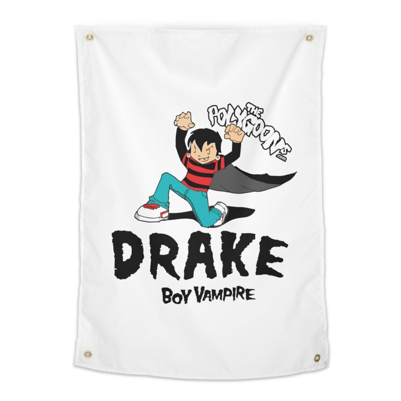 Drake Creepin' Home Tapestry by The Polygoons' Shop