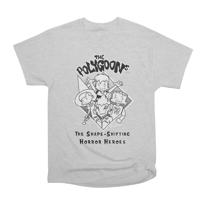 Polygoons Group - black outline Women's T-Shirt by The Polygoons' Shop