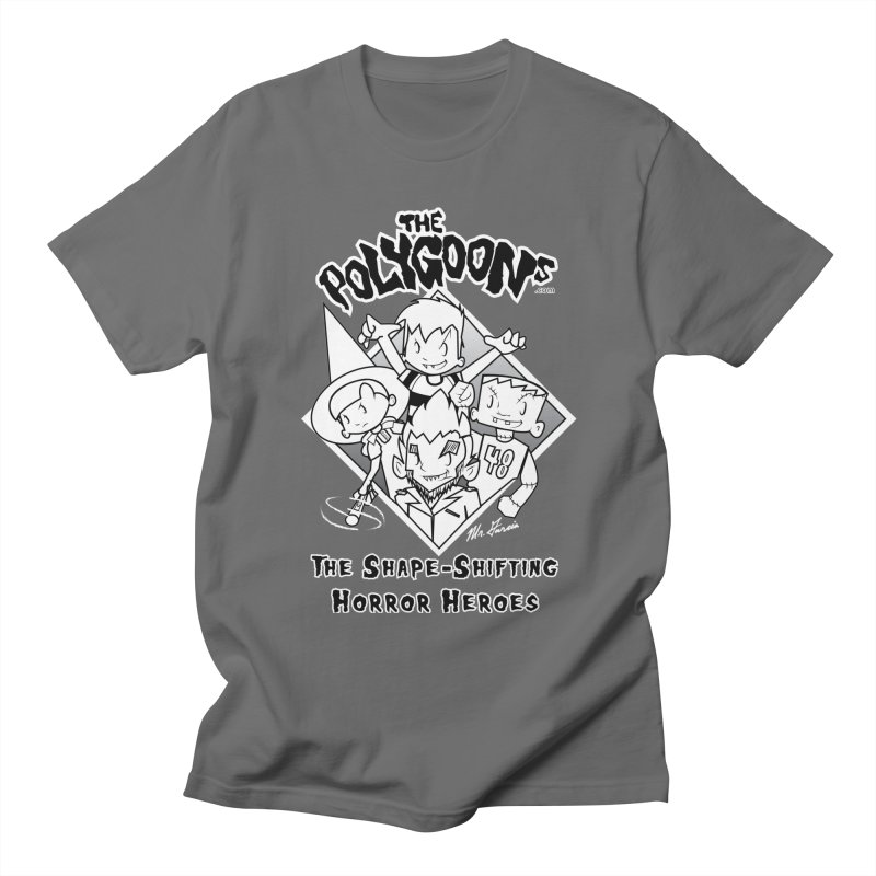 Polygoons Group - black outline Men's T-Shirt by The Polygoons' Shop