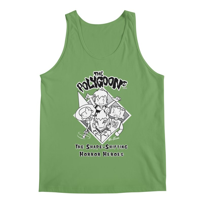 Polygoons Group - black outline Men's Tank by The Polygoons' Shop