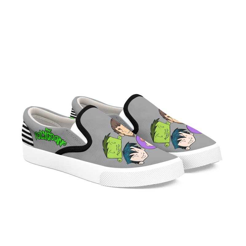 The Polygoons crew Women's Slip-On Shoes by The Polygoons' Shop