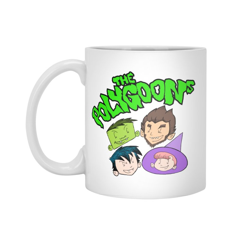 Group + Logo Accessories Standard Mug by The Polygoons' Shop