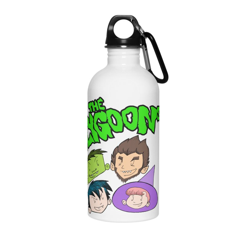 Group + Logo Accessories Water Bottle by The Polygoons' Shop