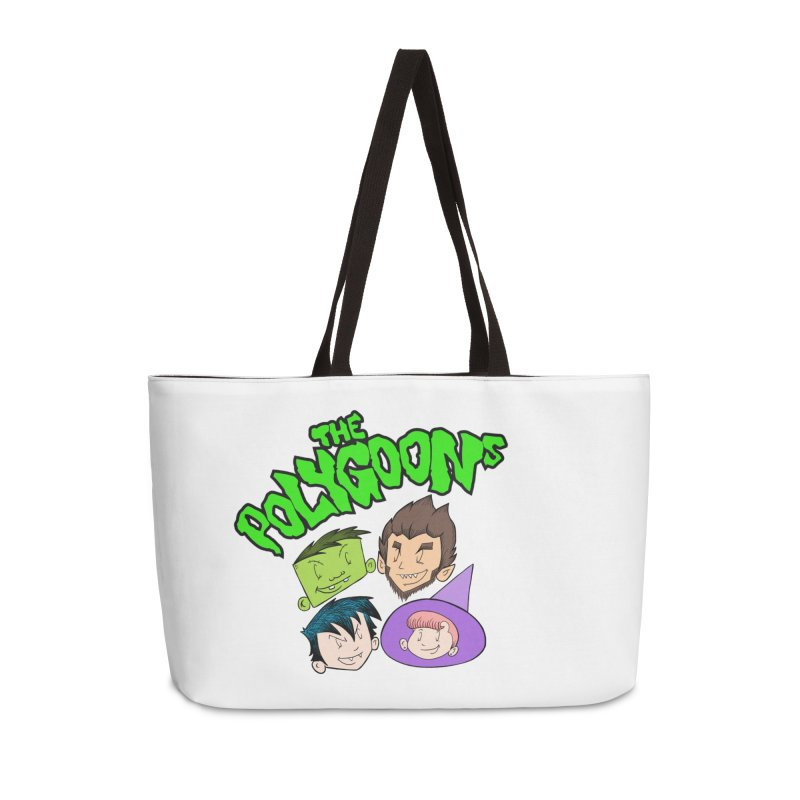 Group + Logo Accessories Weekender Bag Bag by The Polygoons' Shop