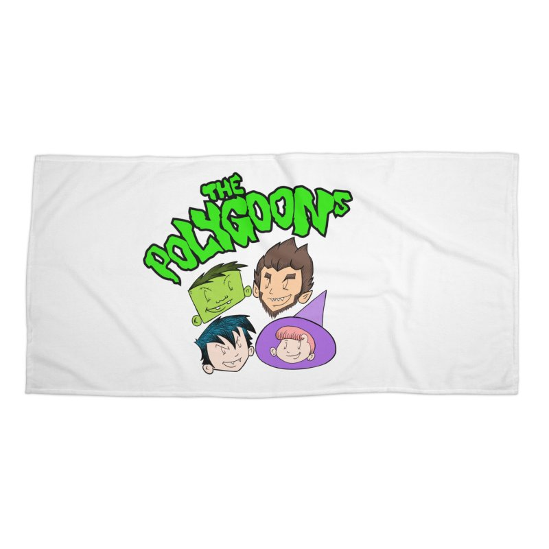 Group + Logo Accessories Beach Towel by The Polygoons' Shop