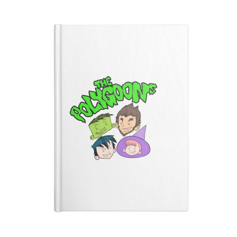Group + Logo Accessories Blank Journal Notebook by The Polygoons' Shop